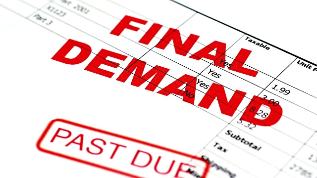 Final Demand - Rent Arrears - Propertunities